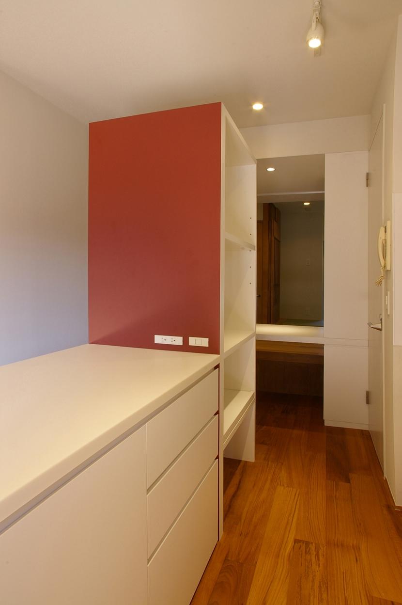 T邸 / 風が通り視線が通る、家全体を一日中使える小さな住まいの部屋 キッチン