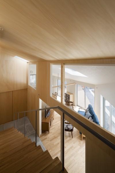 屋移りの住居 (階段)