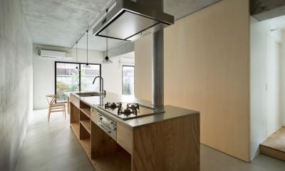MOR  |  東中野の家 (土間キッチン)