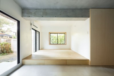 MOR  |  東中野の家 (リビングダイニング)