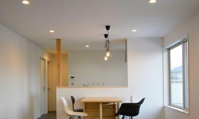 コミチノサキノイエ -最小限木造平家住宅-
