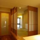 寝室、和室