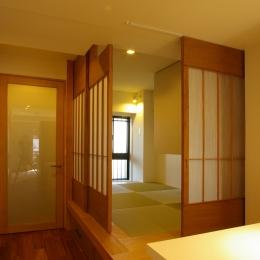 T邸 / 風が通り視線が通る、家全体を一日中使える小さな住まい
