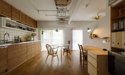 塩梅-実現できる?50平米のコンパクトな家で家族それぞれのマイスペース