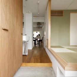 塩梅-実現できる?50平米のコンパクトな家で家族それぞれのマイスペース (寝室兼子供部屋)