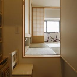 塩梅-実現できる?50平米のコンパクトな家で家族それぞれのマイスペース (収納)