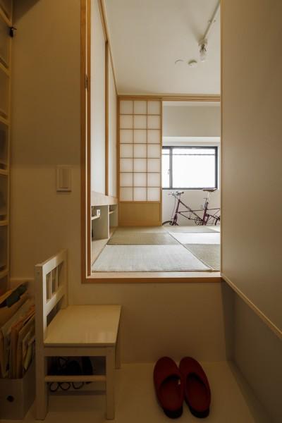 収納 (塩梅-実現できる?50平米のコンパクトな家で家族それぞれのマイスペース)