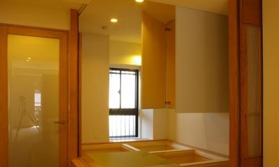 T邸 / 風が通り視線が通る、家全体を一日中使える小さな住まい (寝室、和室、収納)