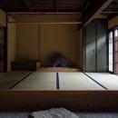 学林町の町家/耐震・断熱改修も行った京町家のリノベーションの写真 玄関/元々なかった床の間を新たに設けています