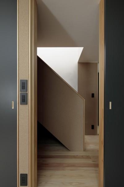 階段 (光束の家)