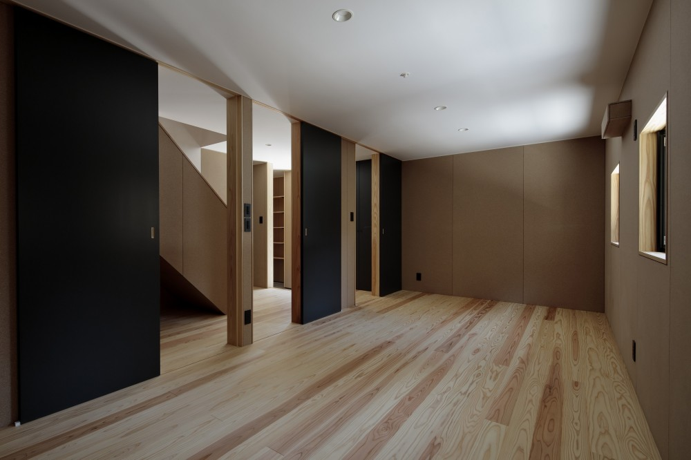 光束の家 (寝室)