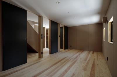 寝室 (光束の家)