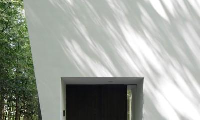 064御代田Nさんの家 (玄関ポーチ)