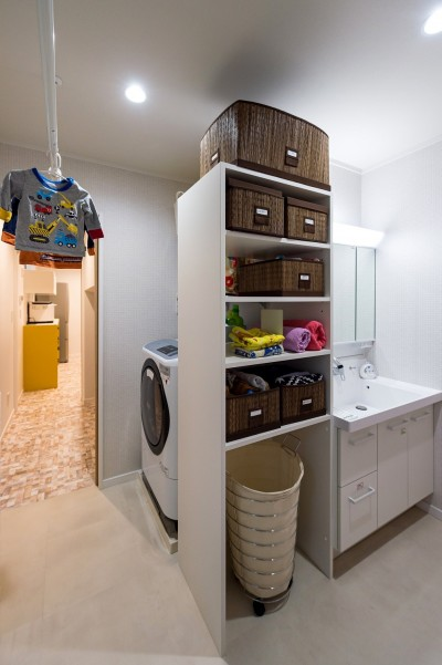 洗面室 (キノイエ)
