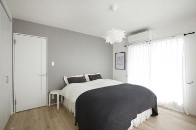 寝室 (O様邸_毎日の使いやすさを大切に)