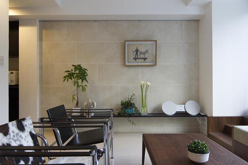 ガーデンテラスのあるオフィス〜新築マンションリノベーション (ミーティングスペース)