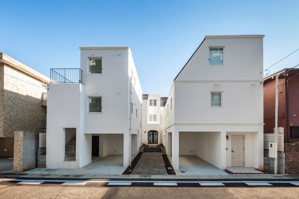 花と過ごす都会の家~賃貸併用二世帯住宅 (外観)