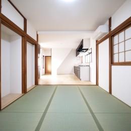 戸建の和室をオープンな空間に (和室・居間)