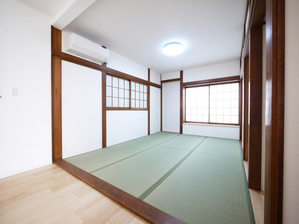 戸建の和室をオープンな空間に (和室)