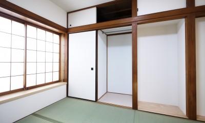 戸建の和室をオープンな空間に (和室収納)