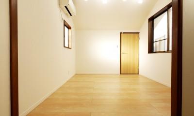 戸建の和室をオープンな空間に (小屋裏・洋室2)
