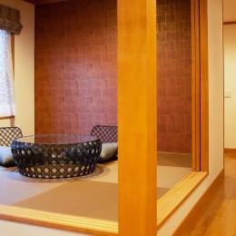 新築別荘の建築設計&インテリア:長野.軽井沢 01 (和室)