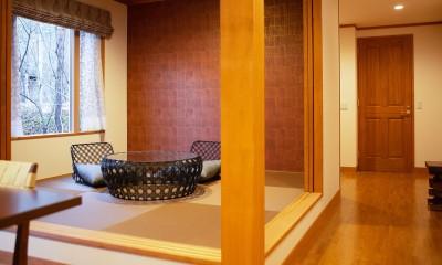 和室|新築別荘の建築設計&インテリア:長野.軽井沢 01