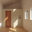 木と土の家の写真 寝室1