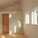 木と土の家の写真 寝室2