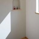 木と土の家の写真 寝室3