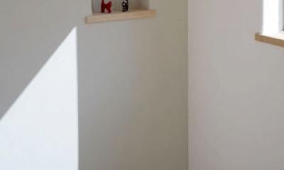 木と土の家 (寝室3)