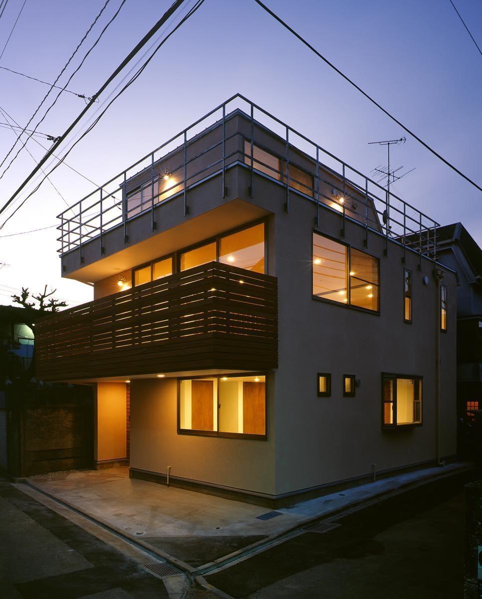 余丁町の家 (外観2)