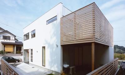 新羽町の家 (外観7)