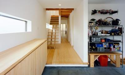 新羽町の家 (内観1)
