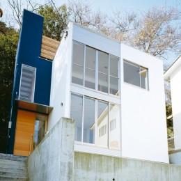 逗子の家 (外観2)
