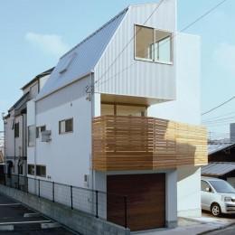 南雪谷の家 (外観3)
