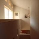 木と土の家の写真 廊下・階段2