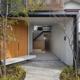 小江戸川越の町家 ー小間を立体的に繋げた現代的町家ー