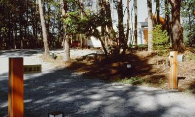 蓼科の山荘