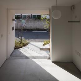 小江戸川越の町家 ー小間を立体的に繋げた現代的町家ー (土間)