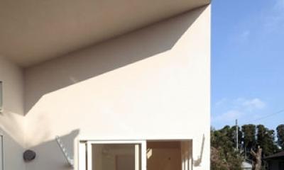 木と土の家 (ルーフバルコニー3)