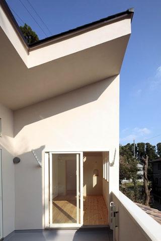 木と土の家の部屋 ルーフバルコニー3