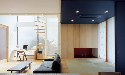 湘南台の家 (内観6)