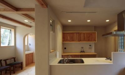 木と土の家 (LDK2)