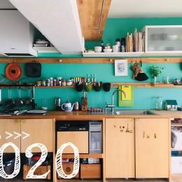 リノベーション「flat.604」 (12年後のキッチン)