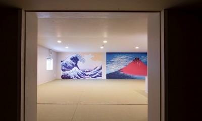 千住東の家 (小屋裏収納)