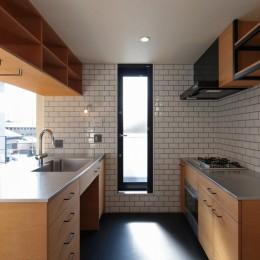 東久留米の家 (キッチン)