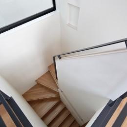 東久留米の家 (階段)