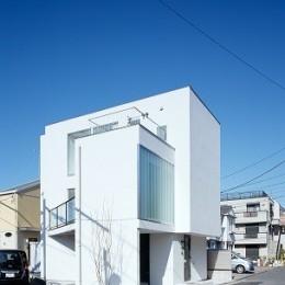 上丸子山王町の家
