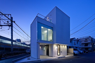 上丸子山王町の家 (外観)